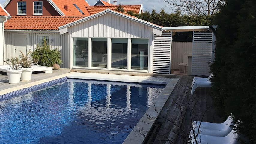 Klagshamn's Pool House - Malmö - Appartement
