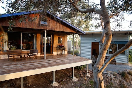 Bimbimbie Hideaway*Couples Retreat*Wildlife & Bush - Coromandel East - Kabin