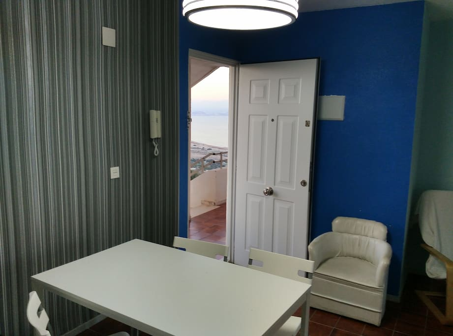vista a la bahía de Alicante