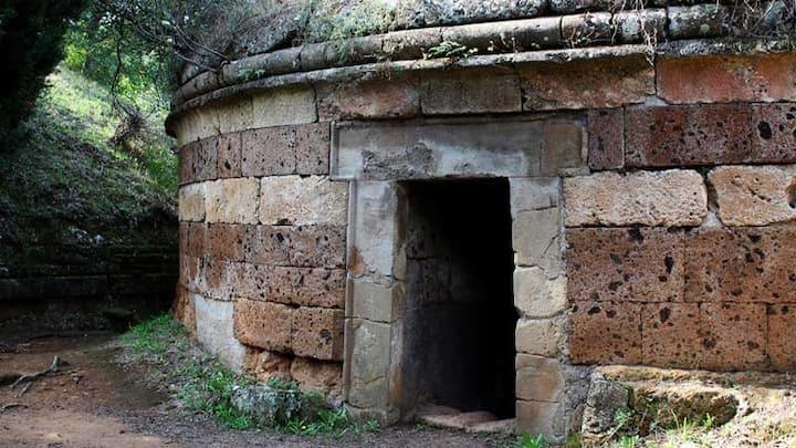 Mansarda nel paese degli Etruschi