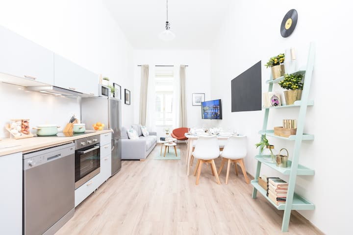 Apartment near to Wenceslas Square with Netflix