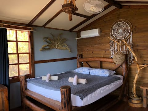 Private Cabin in forest with Sea view (Jasmine)