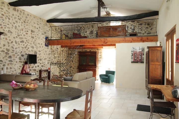 Spacious Loft style apartment