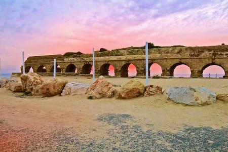 Seaview  Apt. in Caesarea Pool +Spa - Caesarea