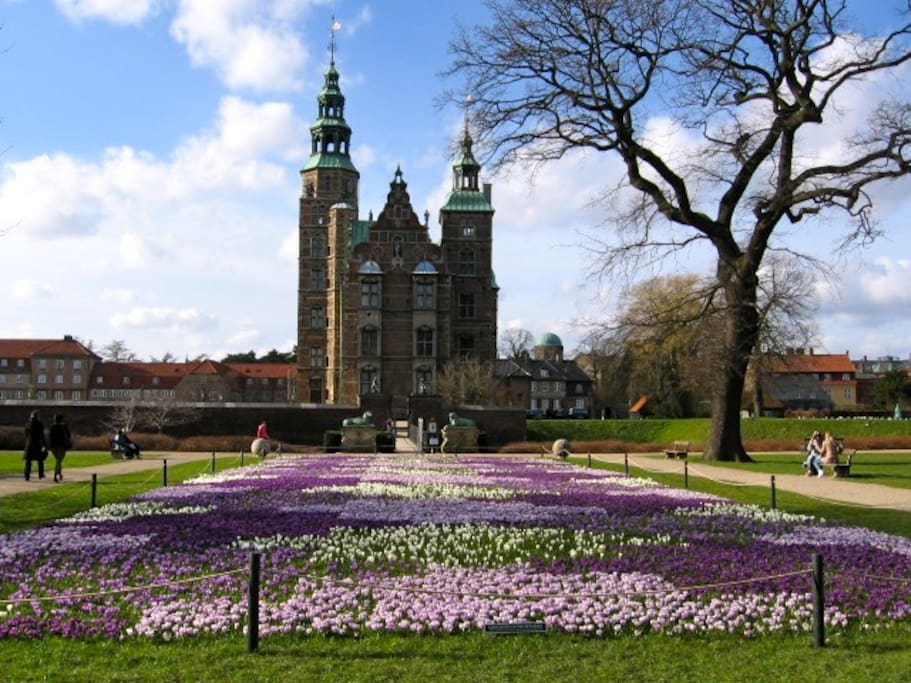 Kings Garden and Rosenborg