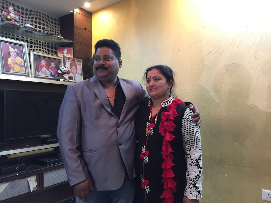 Me and my wife Bhavna