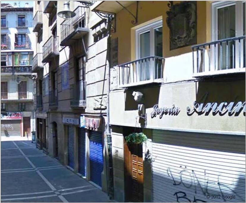 Los balcones - The balconies