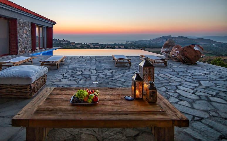 Villa Molivos Views