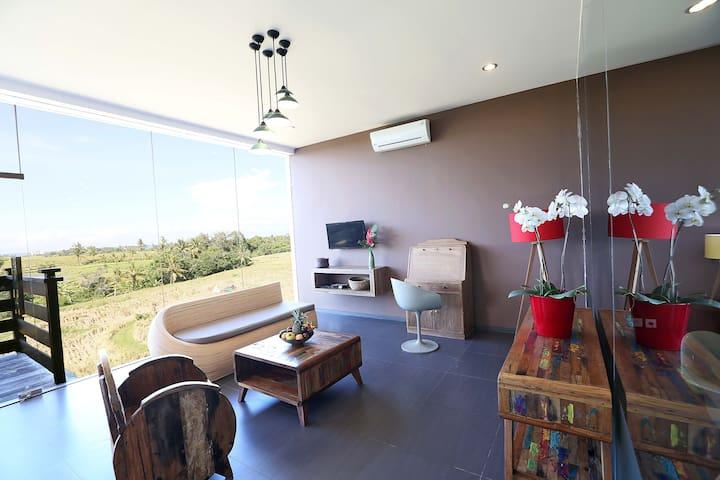 Canggu William's Place Living Area