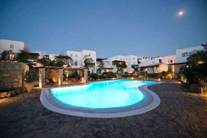 Our Beautiful House in Pleiades, Ornos - Mykonos