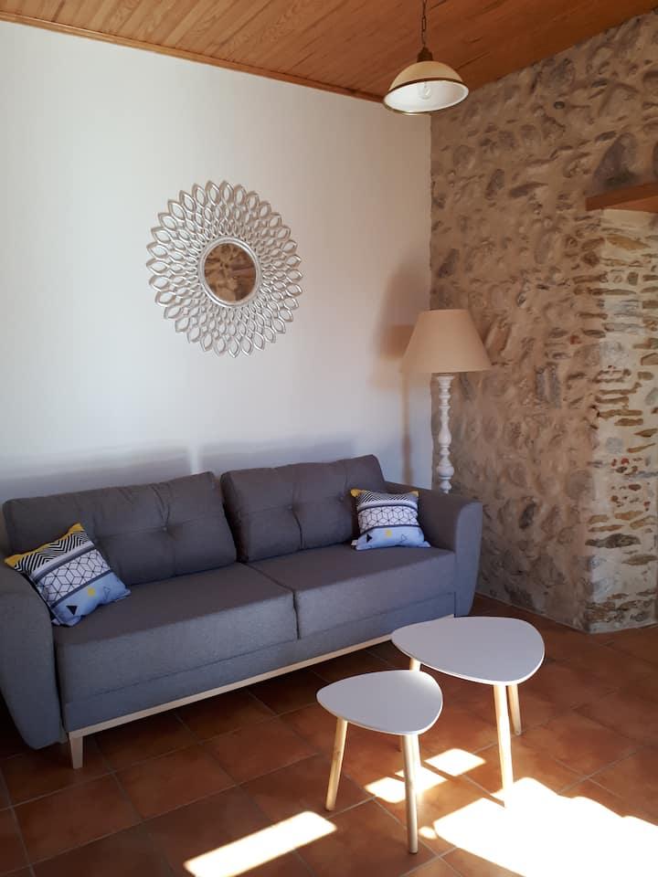 Bel appartement rénové dans maison bigourdane