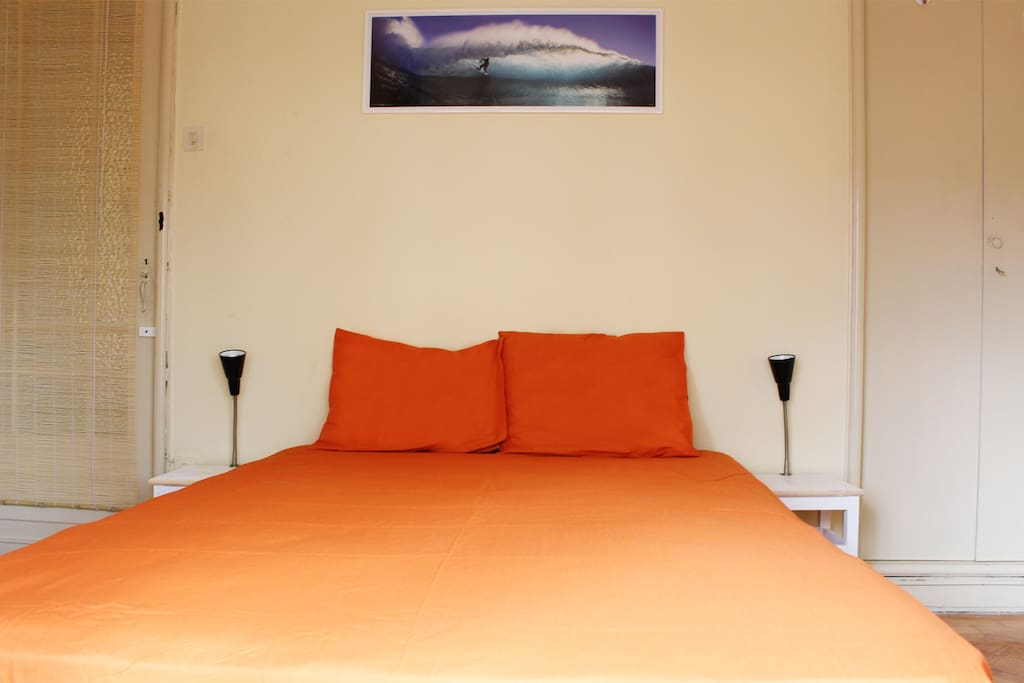 double bed room /private