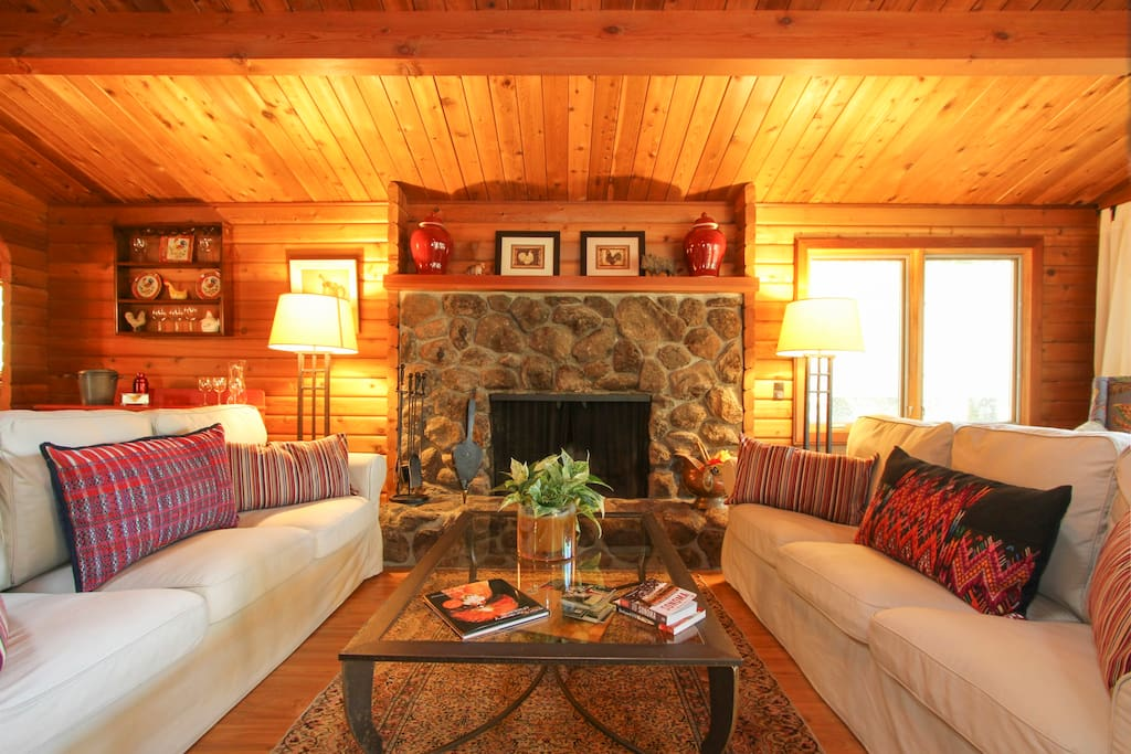 "Fireplace Design the fireplace dc : ""Casa Loma"" Majestic Oaks & Views - Chalets for Rent ..."