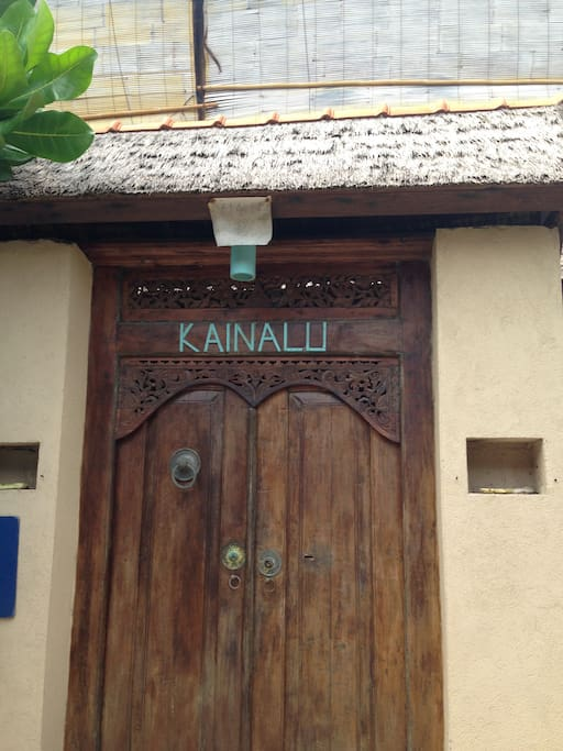 Entrance to Kainalu Villa