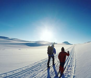 Ny komfortabel og flott hytte, ski in/out.