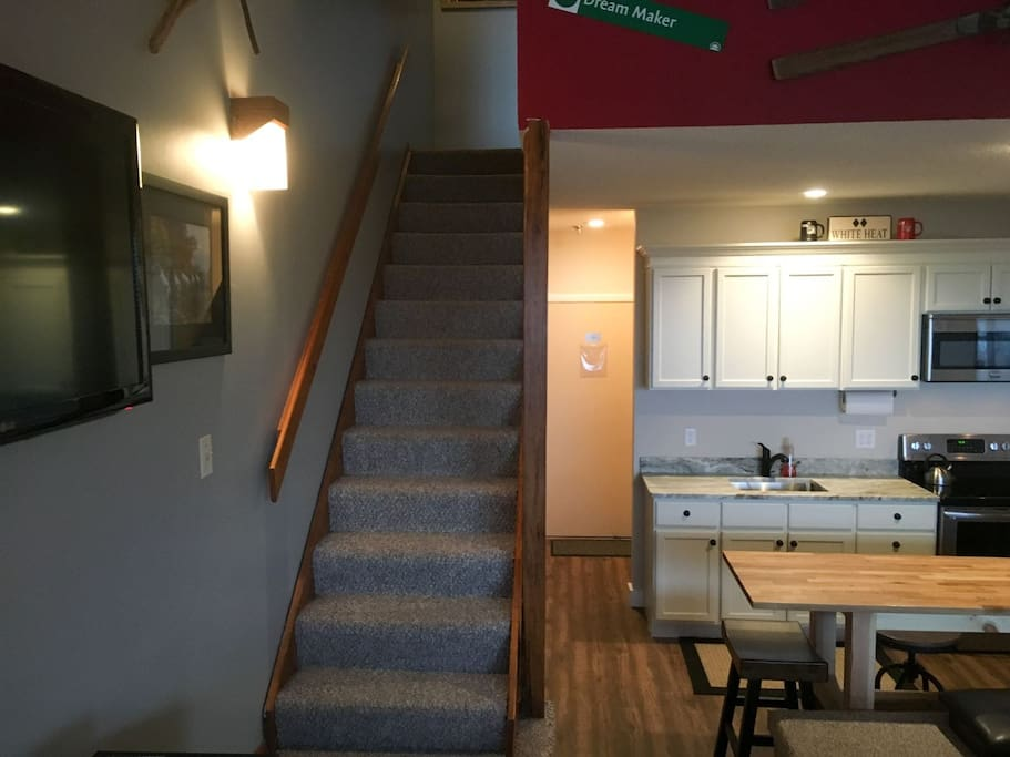 Updated Kitchen and Dining Area