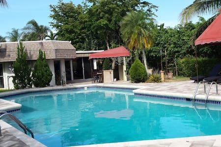 Beautiful South FL Estate Home  - タマラック - 別荘