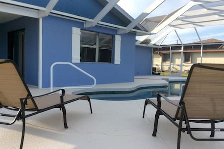 Relaxing pool home near beaches - Rotonda West - House