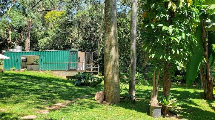Casa Container na Represa de Guarapiranga! Sonho!