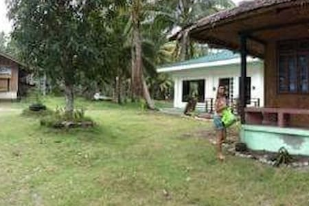 Morzant beach resort Beach house. - Lianga - Guesthouse