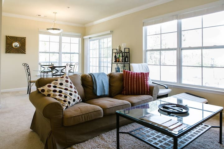 Comfortable 1BR minutes from Duke! - Durham - Apartment