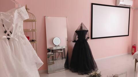 网红主题婚纱