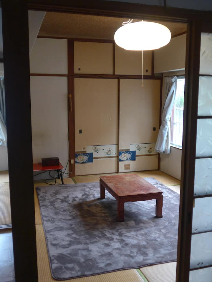 Japanese traditional and family-type apartment