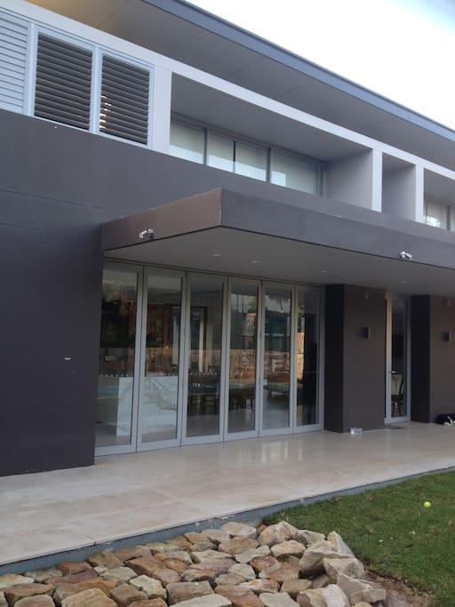 Expansive balconies