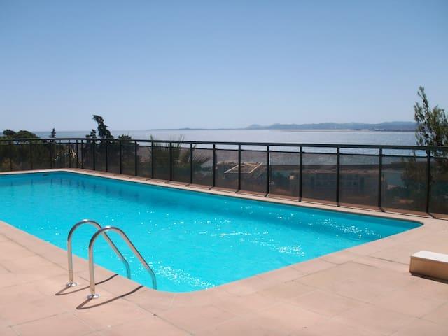 stunning sea view swiming pool