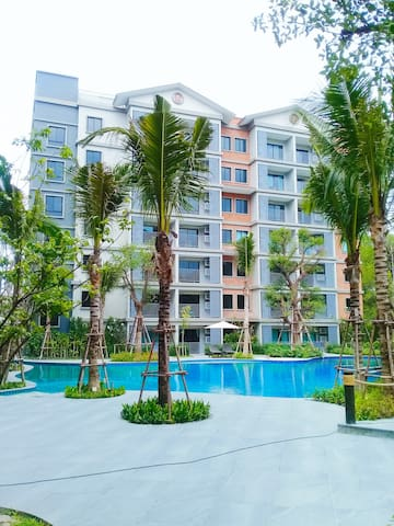 Совершенно новая квартира в 200 м от пляжа 47 sq.m