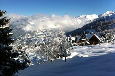 Chalet avec vue sur les montagnes - Saint-Lary-Soulan - Xalet