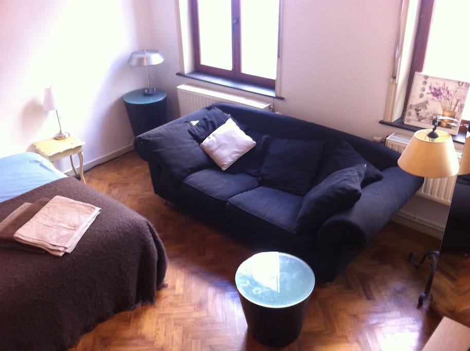 canapé grande taille à 2 places