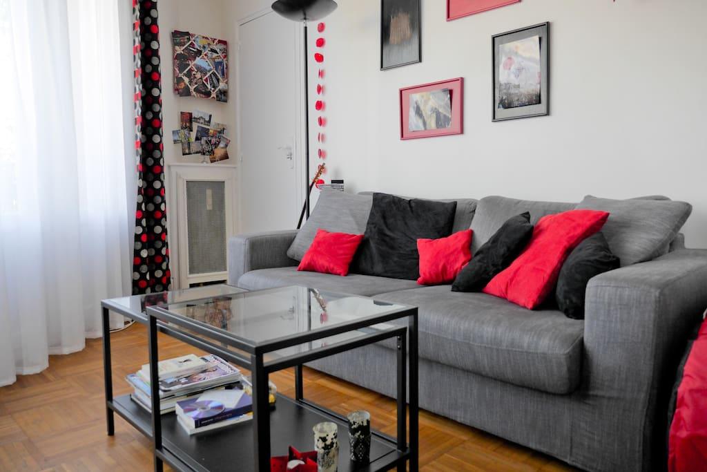 appart lumineux 10min pied paris appartements louer. Black Bedroom Furniture Sets. Home Design Ideas