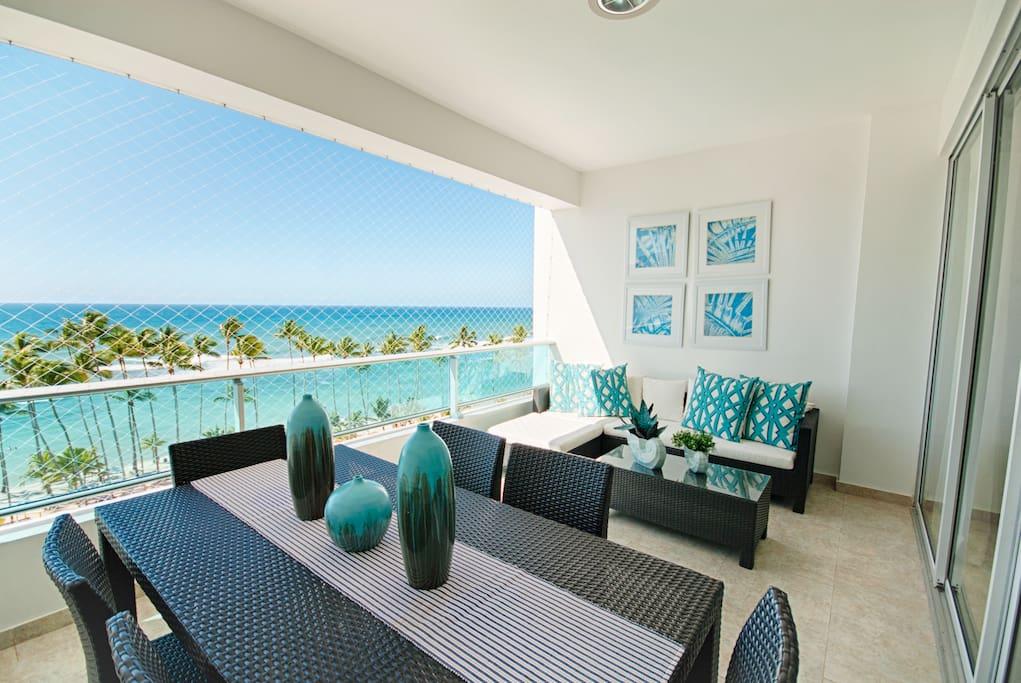 Wonderfull beach view apartment in marbella apartamentos en alquiler en juan dolio san pedro - Decoracion marbella ...