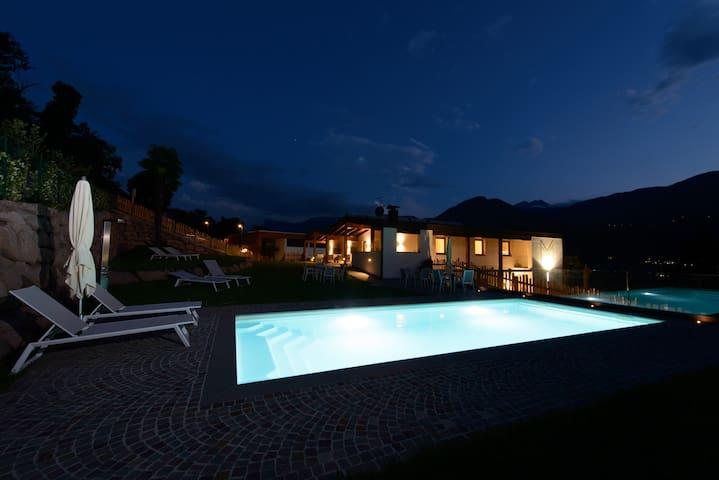 Moderne Natur-Ferienwohnung Josef bei Meran