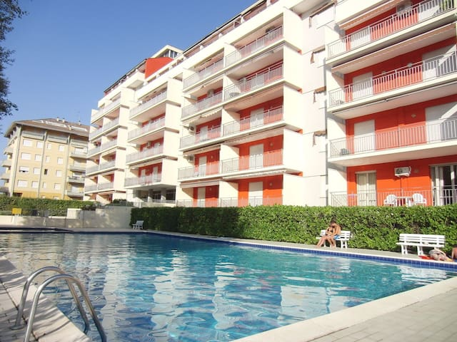 Cute apartment with pool - Porto Santa Margherita - Apartment