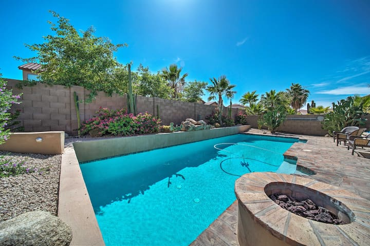 Goodyear Home w/Private Pool, Grill & Game Room!