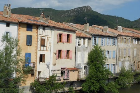Delightful room overlooking river - Quillan