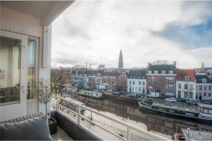 Beautiful apartment in downtown Groningen - Groningen - Leilighet