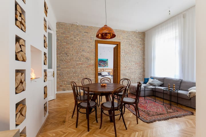 Apartment in the heart of Budapest - Budapest - Apto. en complejo residencial