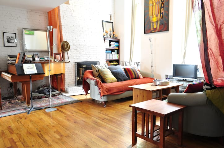 Duplex Loft in Fort Greene