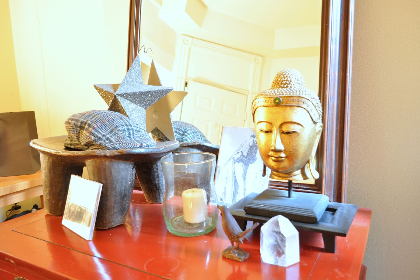 ...buddhas increase the good vibes !