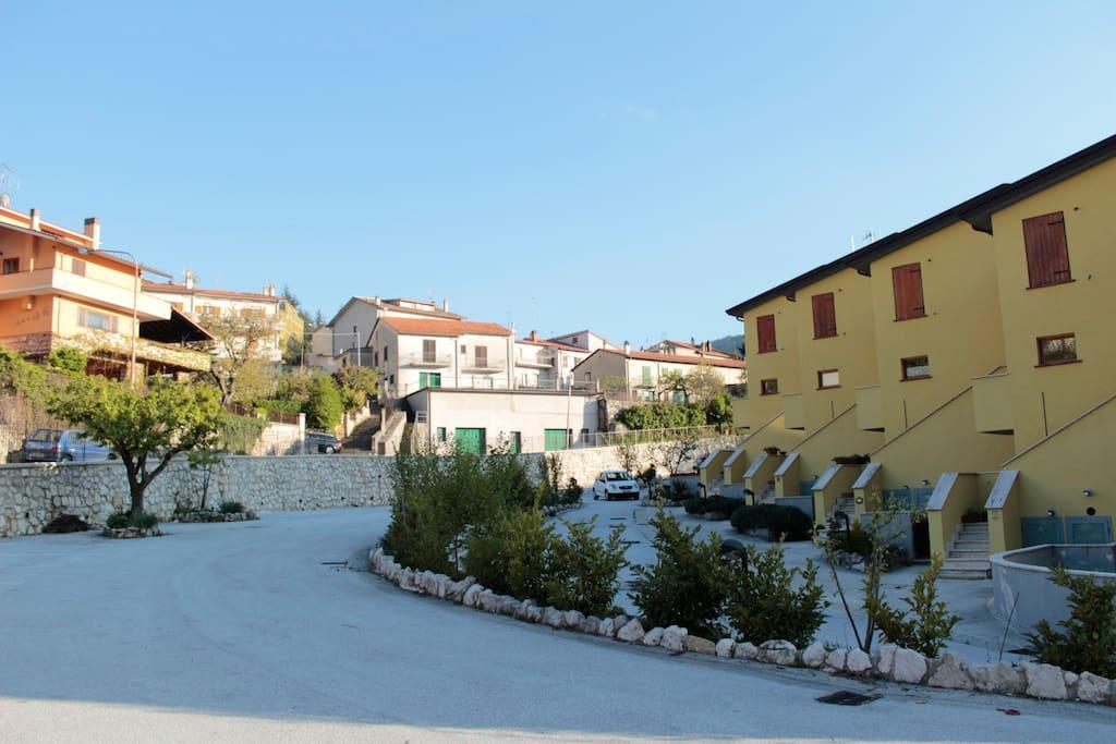 Residence Orto di Venanzio - Prospetto laterale
