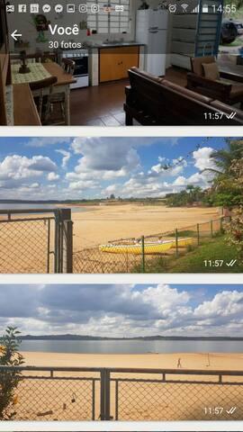 Represa de Avaré Casa de Campo Pé na Areia
