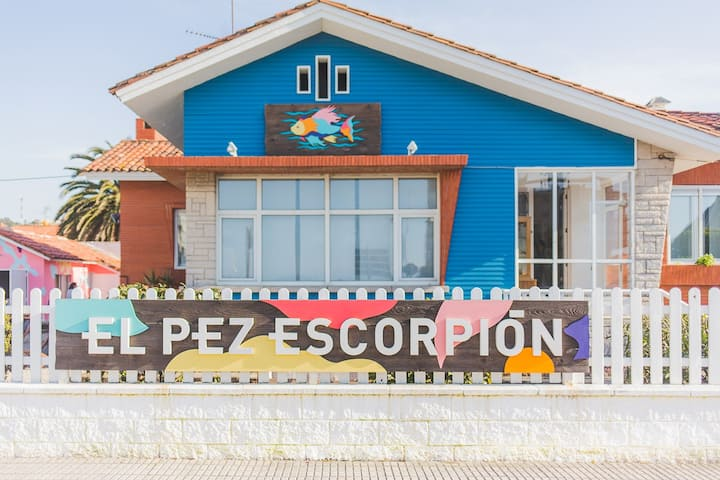 El Pez Escorpión Beach Hostel