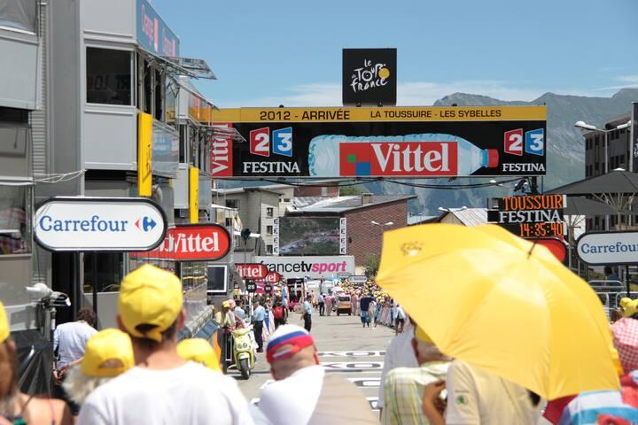 Camp de base pour le Tour de France - Fontcouverte-la-Toussuire - Apartment