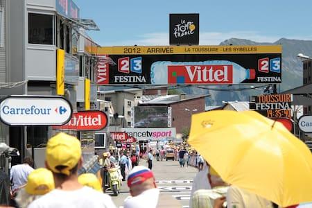 Camp de base pour le Tour de France - Fontcouverte-la-Toussuire