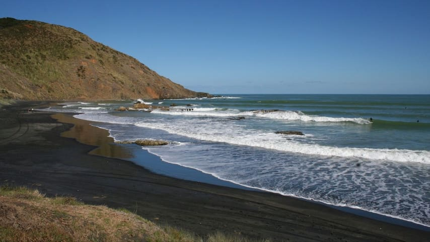 Surf, Stay and Play at Port Waikato