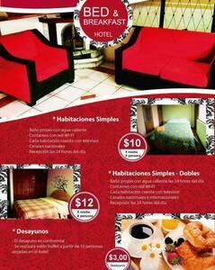 Hotel economico y limpio n Riobamba - Szoba reggelivel