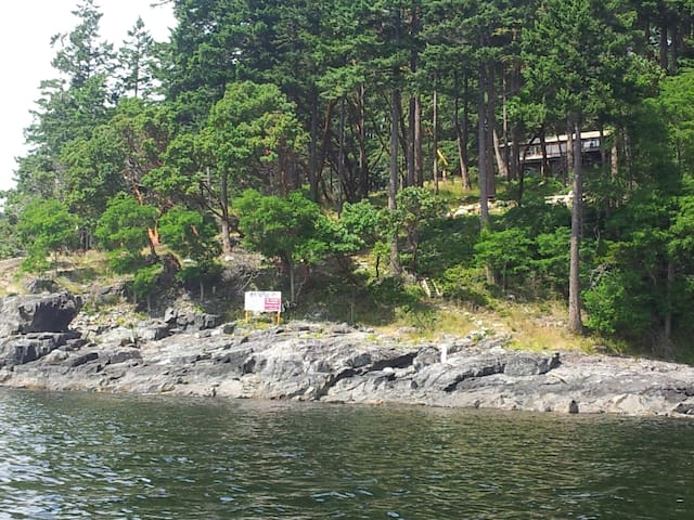Sunshine Coast BC Waterfront Cottage - Madeira Park